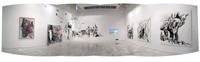 """Exposición """"VERSUS"""" Instituto de América- Centro Damián Bayón (2010)"""