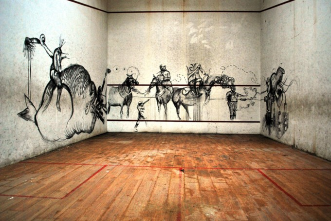 """""""Le troisième oeil (la vieille recherche interne)"""" (2009)"""