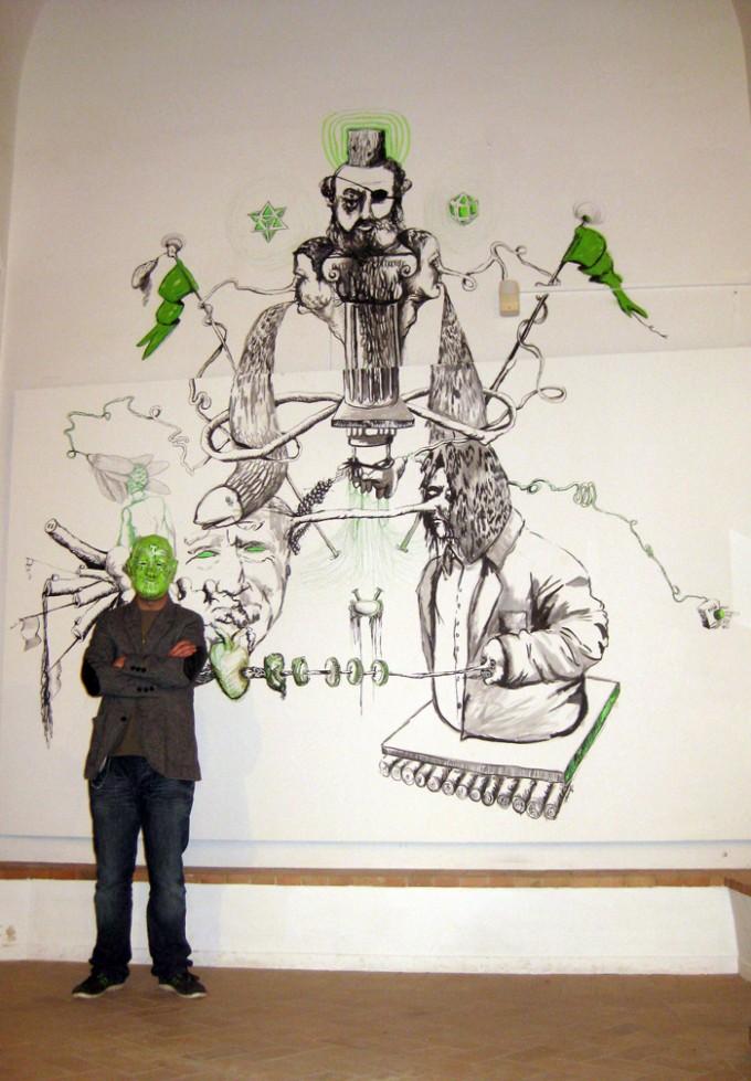 """""""Penitencia en verde (a Francisco Moreno Galván)"""" (2012)"""