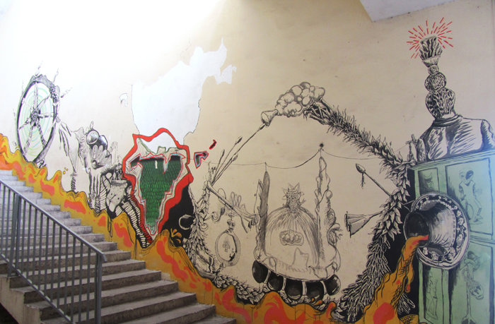 """""""ROTA FORTUNAE"""" YANGO, I Bienal de arte contemporáneo de Kinshasa (R.D. Congo)"""