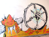 """ROTA FORTUNAE"" YANGO, I Bienal of contemporary art, Kinshasa (R.D.Congo)"