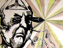 Mural «Recuerdo de aquel mito delirante» junto a Anders Gronlien (2011)