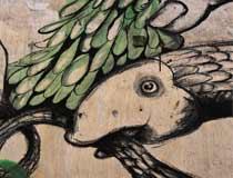 """""""Sua Cuique Persona"""" (Mural en I-Bienal de Arte Contemporáneo de Casablanca) (2012)"""