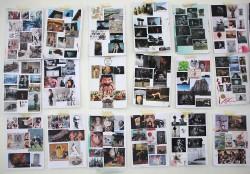 Ivan Izquierdo collages